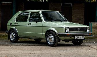 Volkswagen Golf Mk1 wfabrycznym stanie