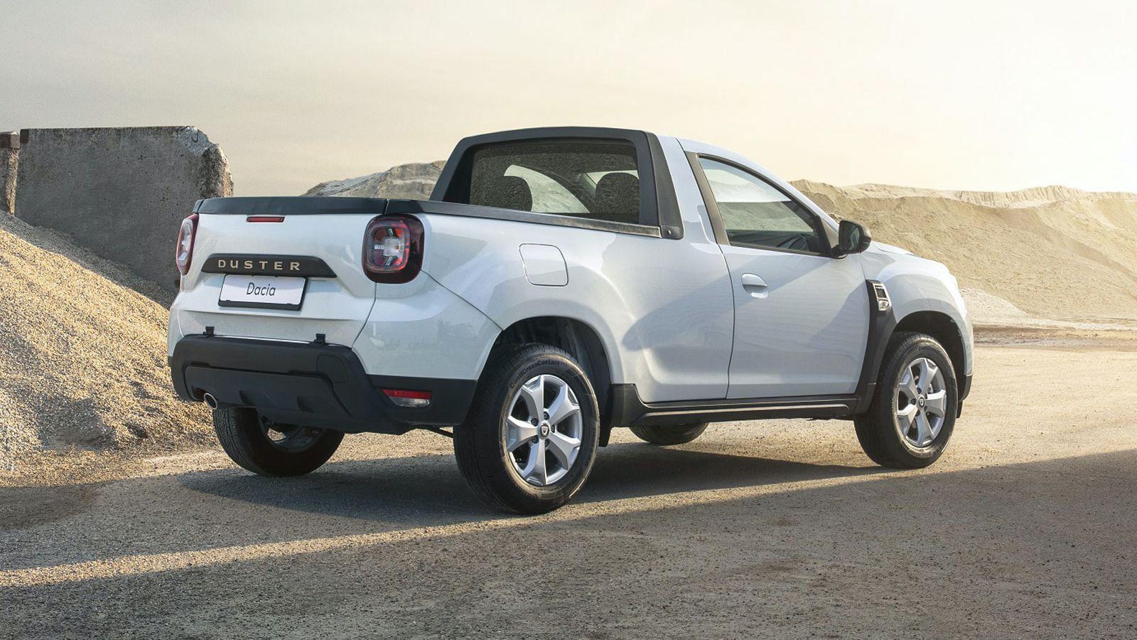 Dacia Duster Pick-up skrzynia załadunkowa