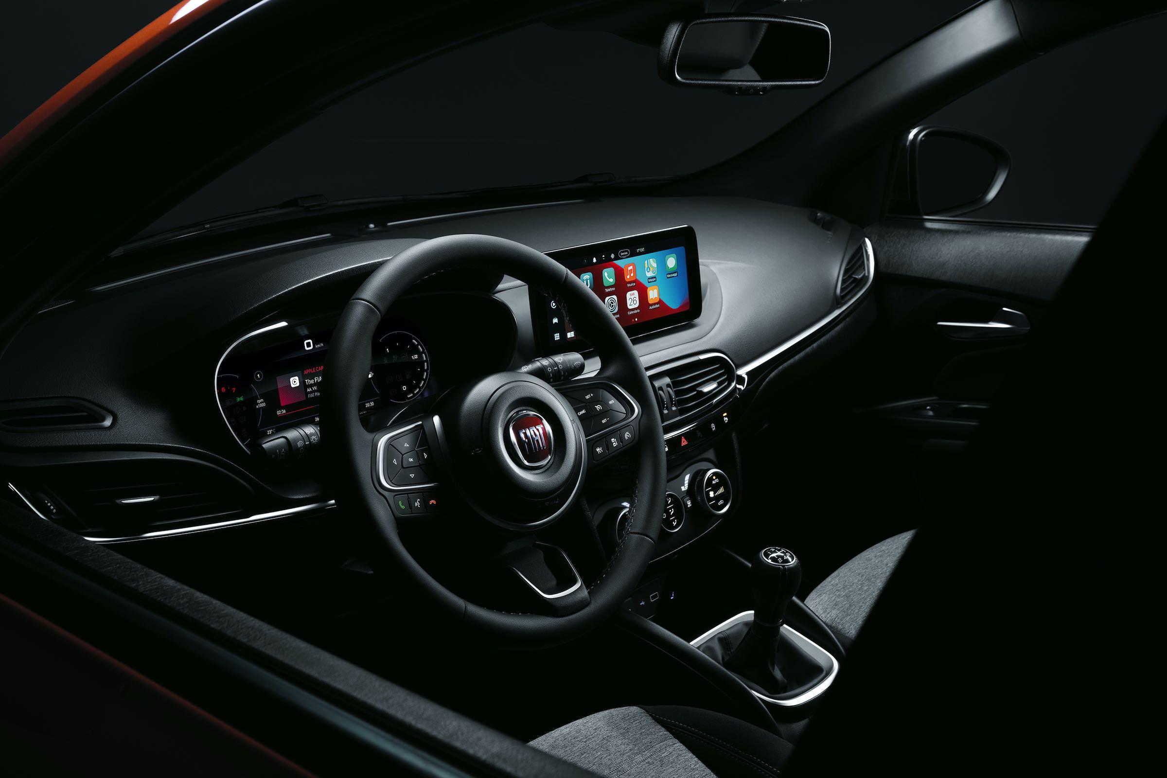 Fiat Tipo 2021 - wnętrze