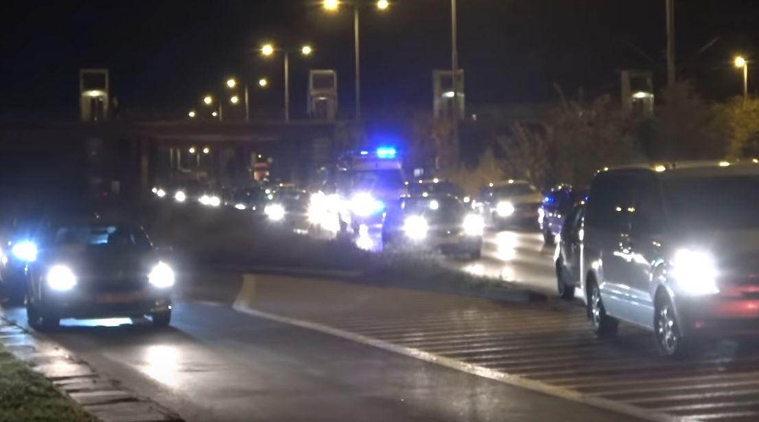 Protest kierowców w Gdańsku