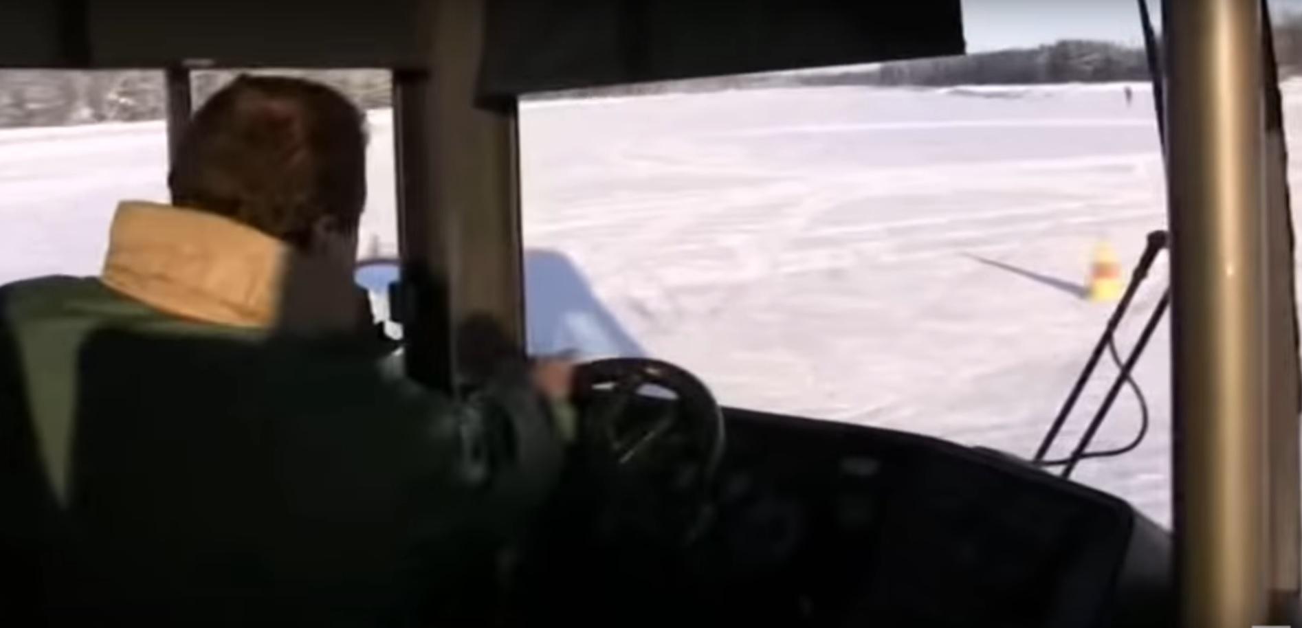 Obrót o 360 stopni autobusem