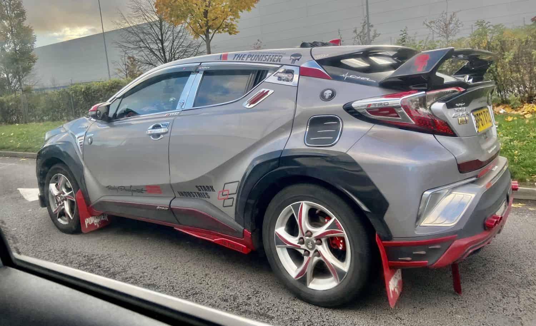 Toyota C-HR wiejski tuning