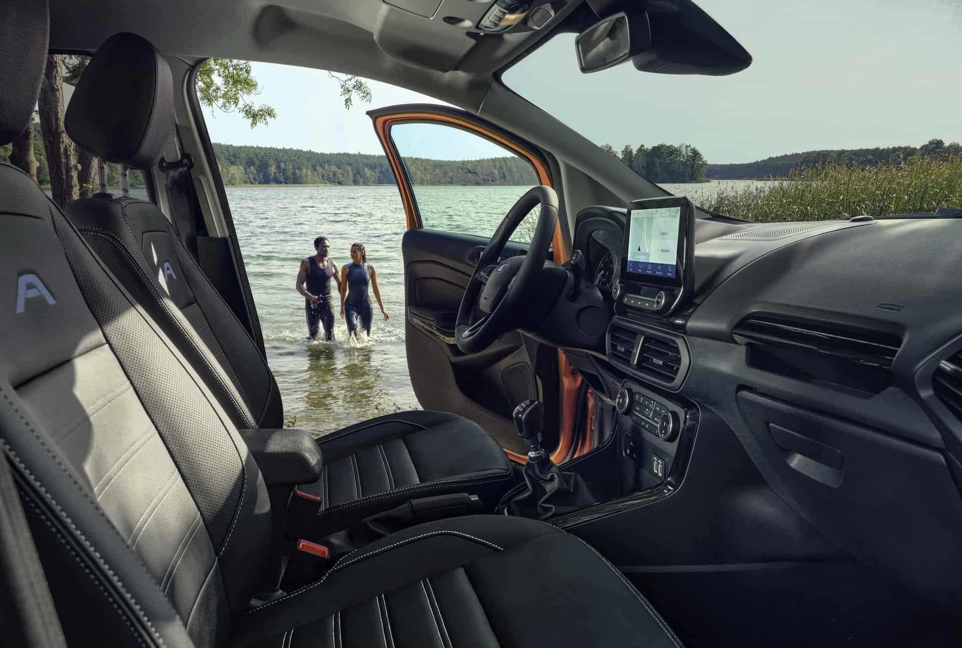 Ford Ecosport Active - wnętrze