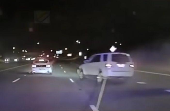 Wyjątkowy sposób policji na zatrzymanie uciekiniera
