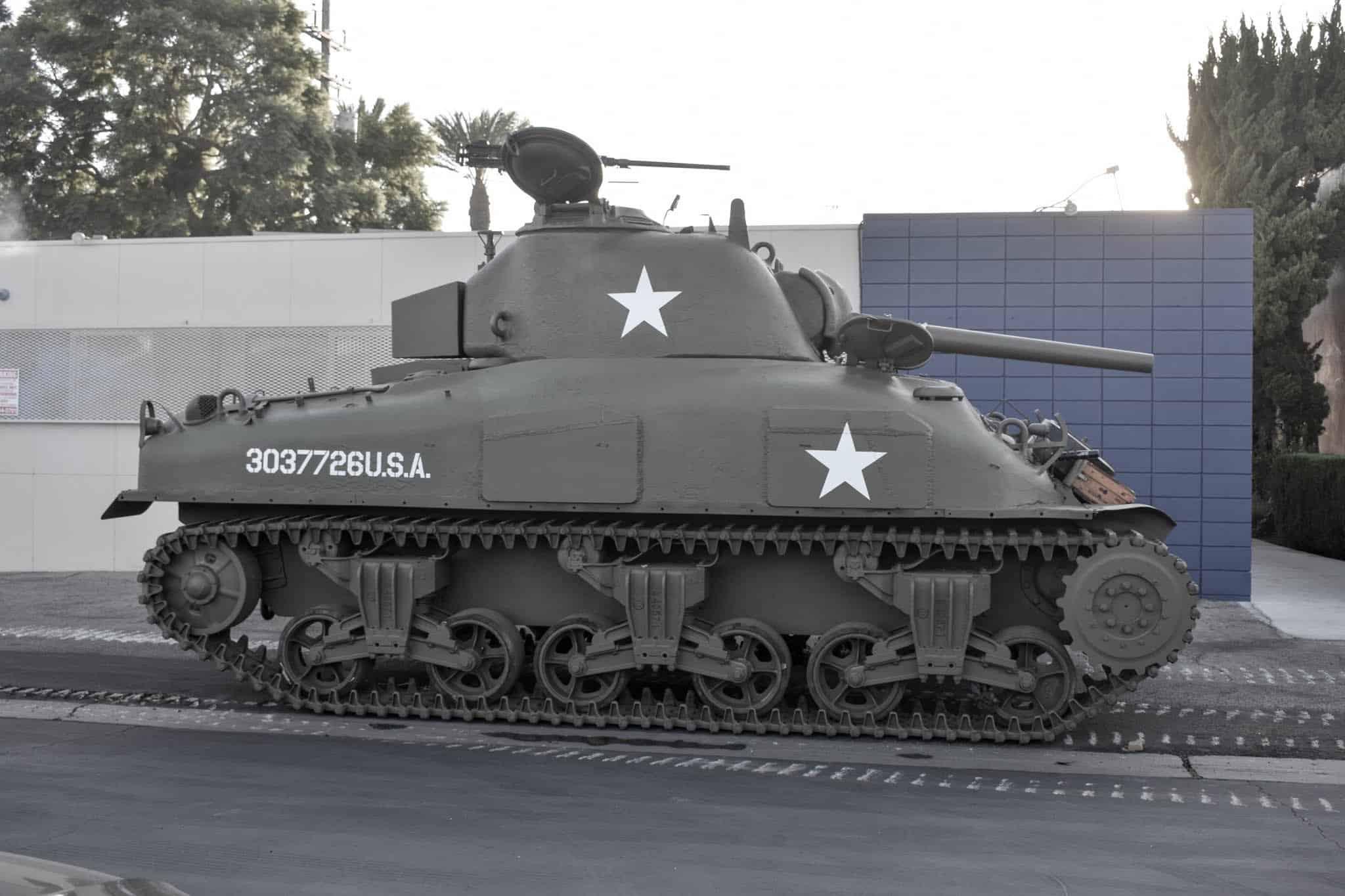 M4 Sherman - dane techniczne