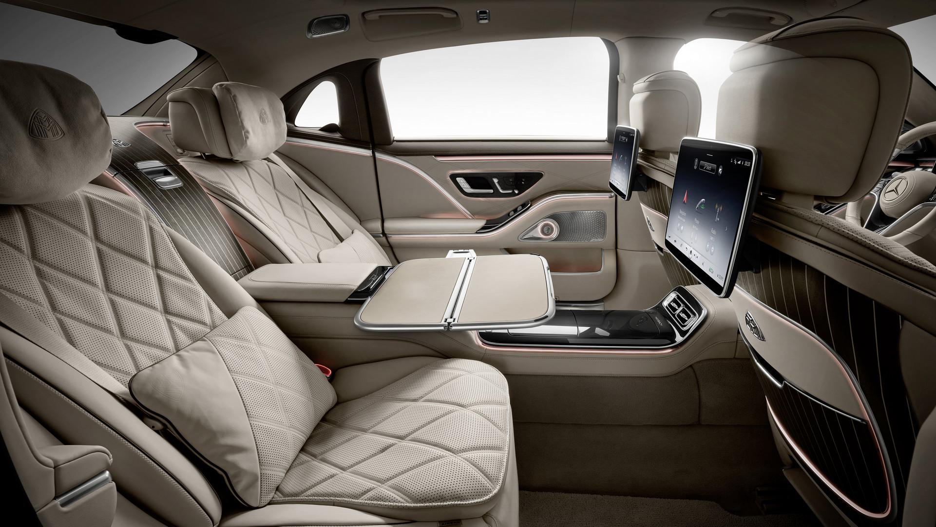 Mercedes-Maybach Klasy S - wnętrze