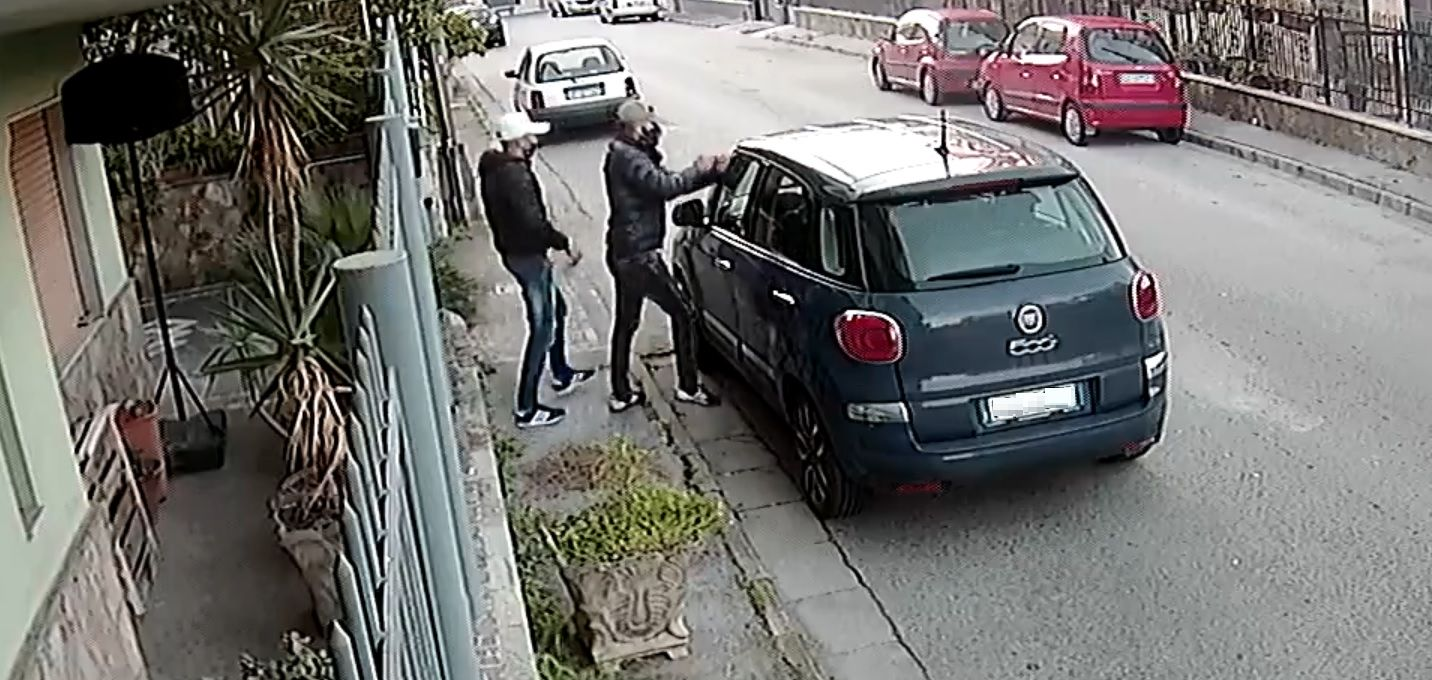 Nietypowa kradzież auta