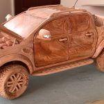 Ford Ranger z drewna