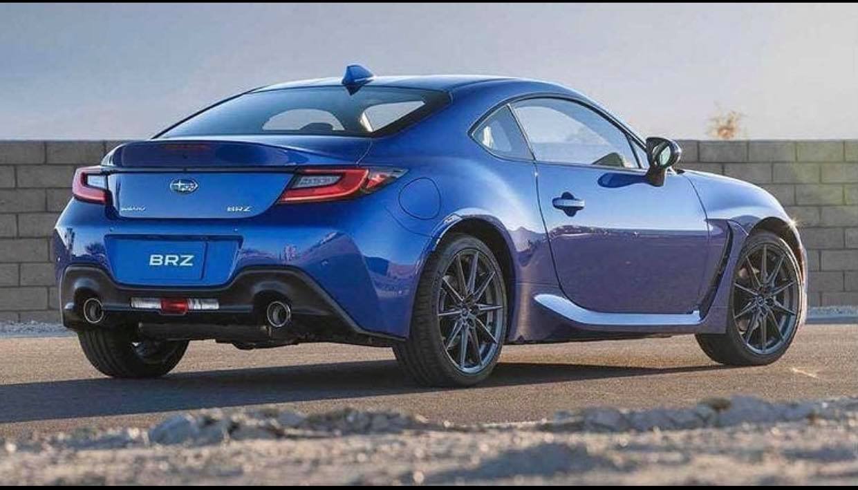 Subaru BRZ 2021 design