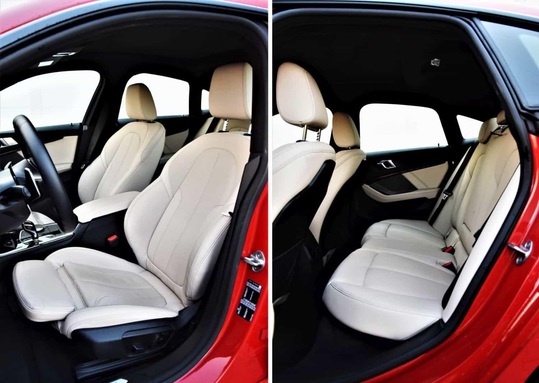 Seria 2 Gran Coupe wnętrze