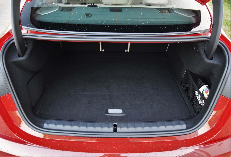 Seria 2 Gran coupe pojemność bagażnika