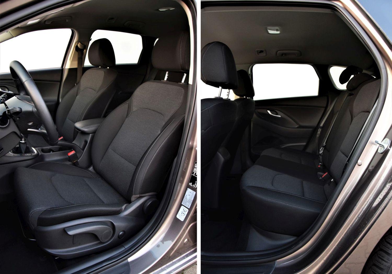 Hyundai i30 Wagon wnętrze