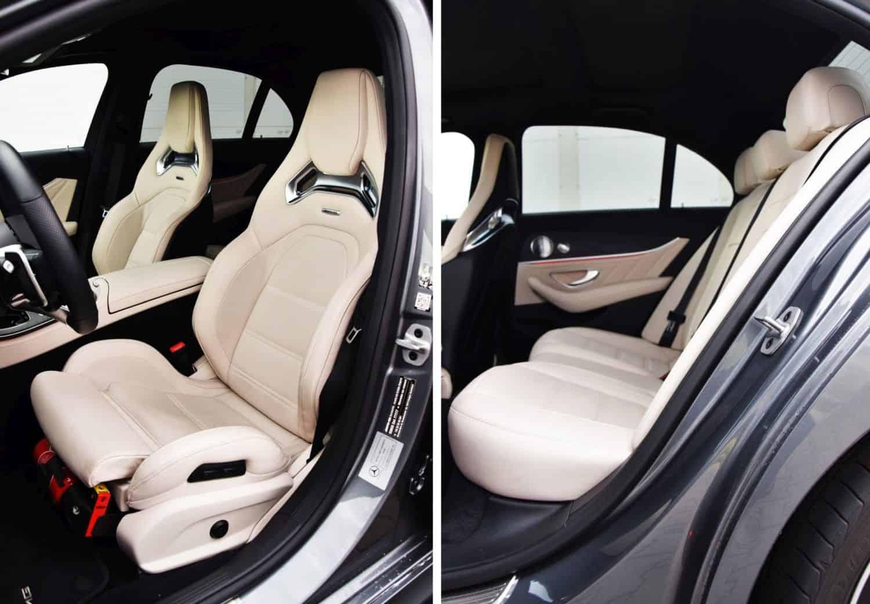Mercedes-AMG E 53 4MATIC+ - fotele