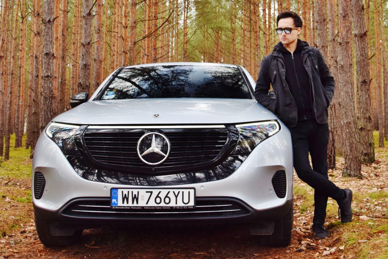 Mercedes-Benz EQC test