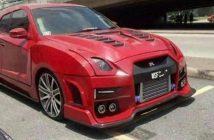Przeróbka na Nissana GT-R