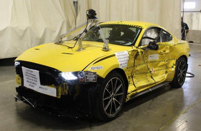 Mustang after crashtest for sale