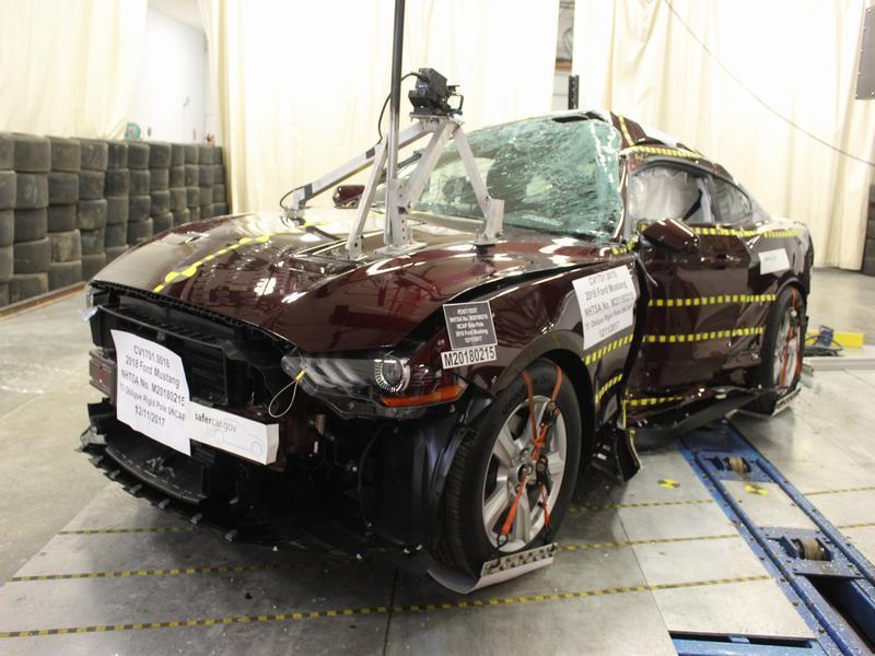 Mustang na części