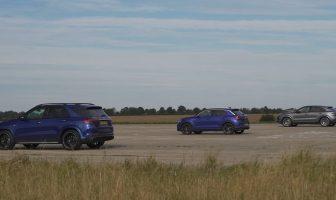 GLE 53 vs Cayenne Coupe vs T-Roc R
