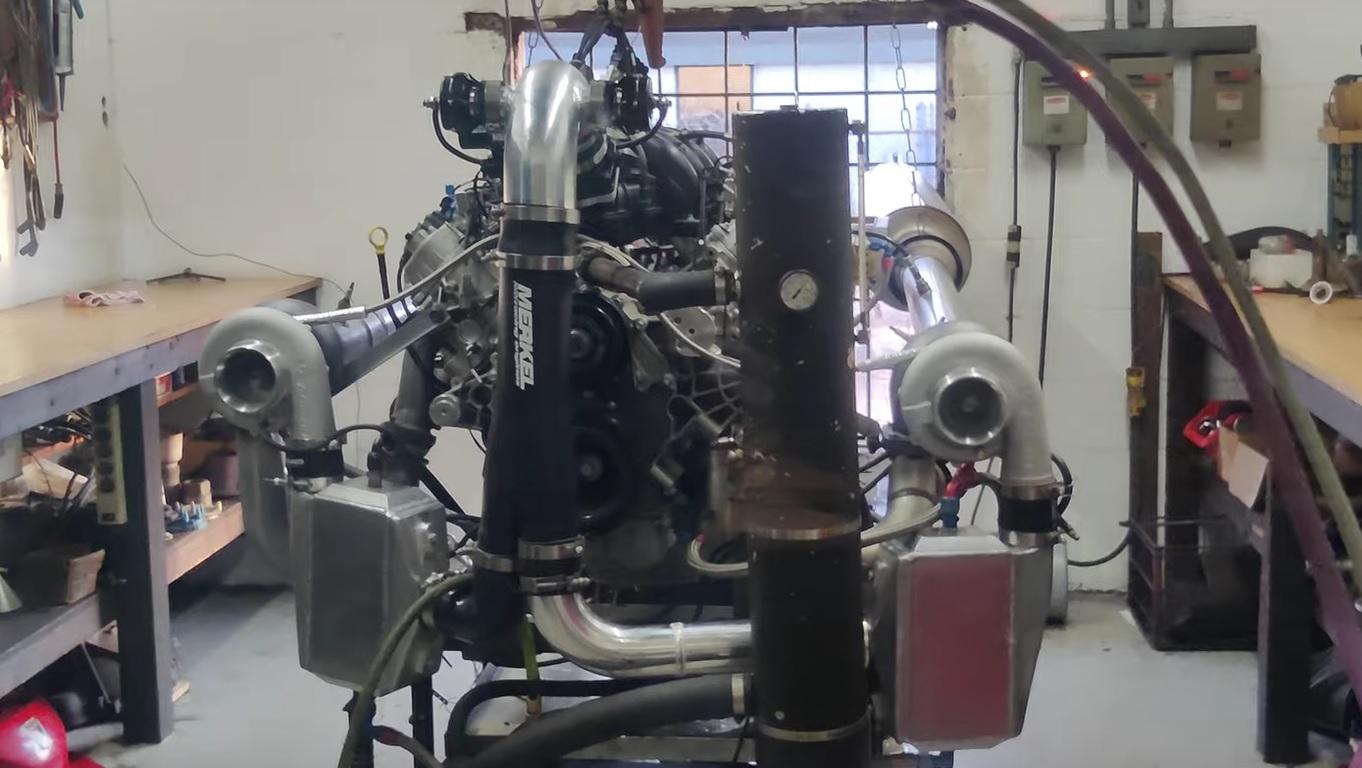 7.3 V8 Ford engine