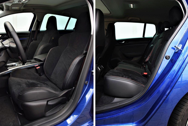 Renault Megane Grandtour E-TECH wnętrze