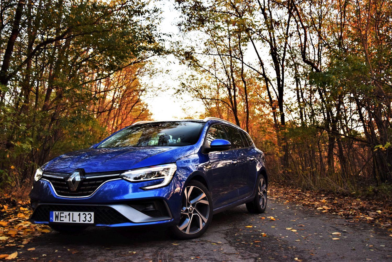 Renault Megane Grandtour E-TECH wrażenia zjazdy
