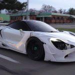 McLaren bodykit z drukarki