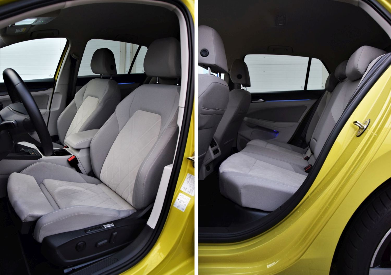 VW Golf 2020 - wnętrze