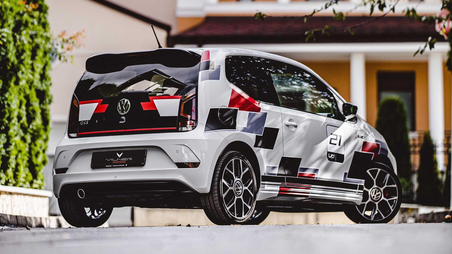 Volkswagen Up! GTI power