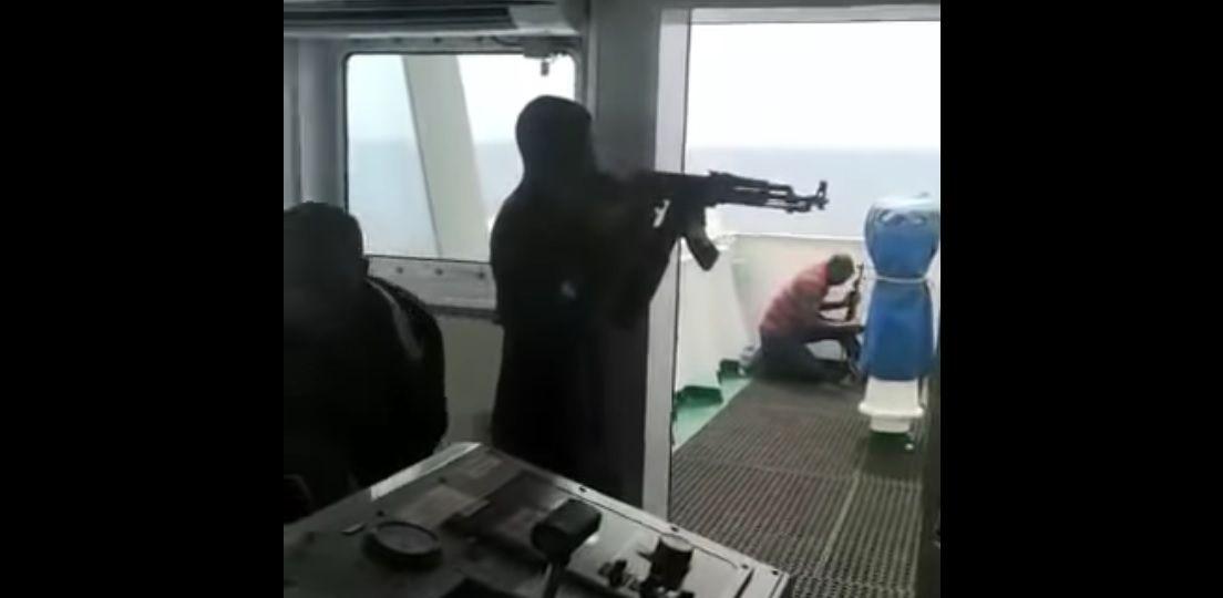 Atak piratów na rosyjski statek transportowy
