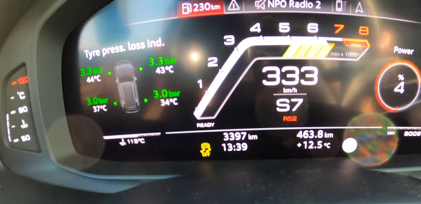 Audi RS6 1001 HP acceleration