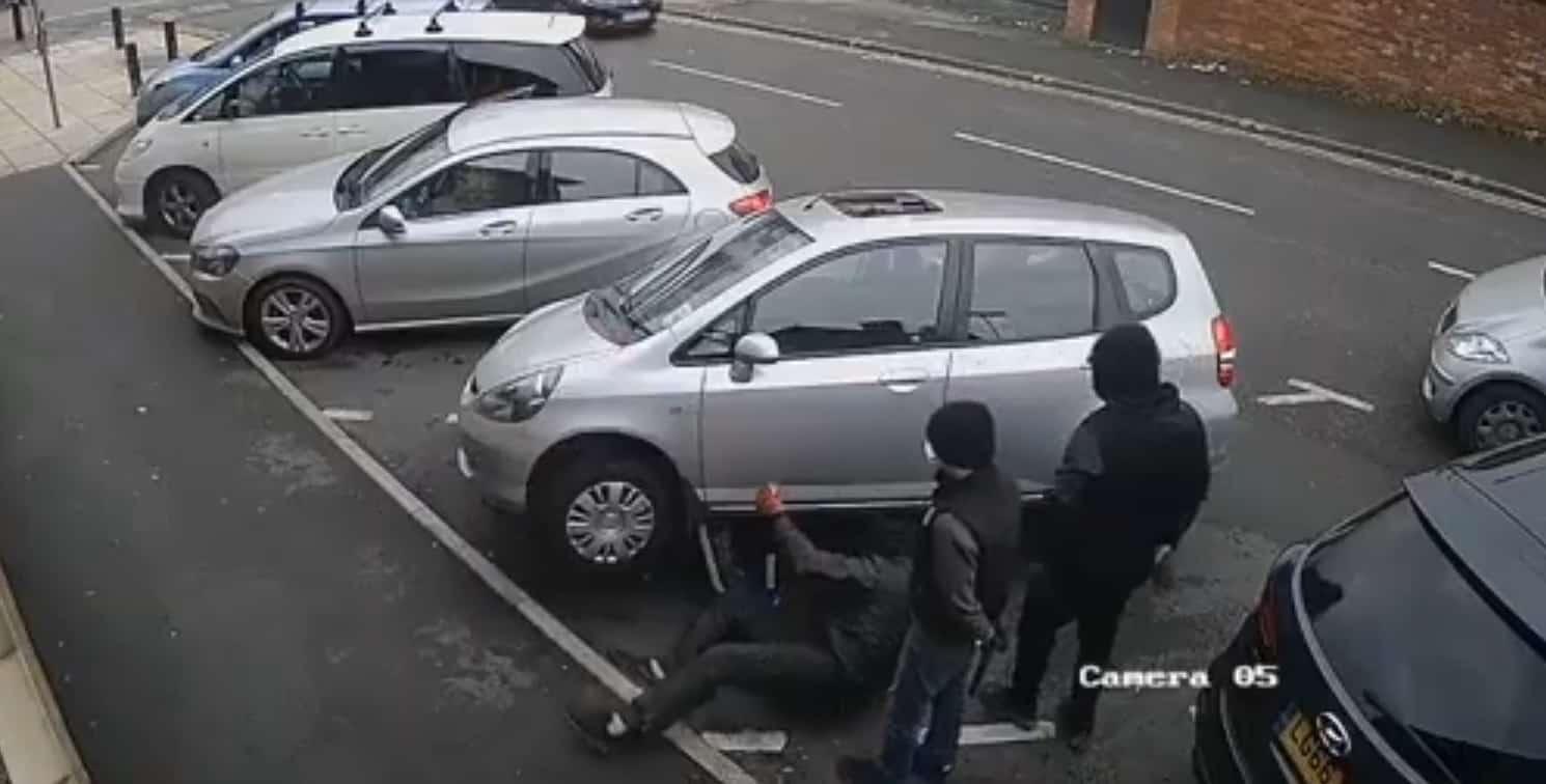 Kradzież katalizatora w biały dzień
