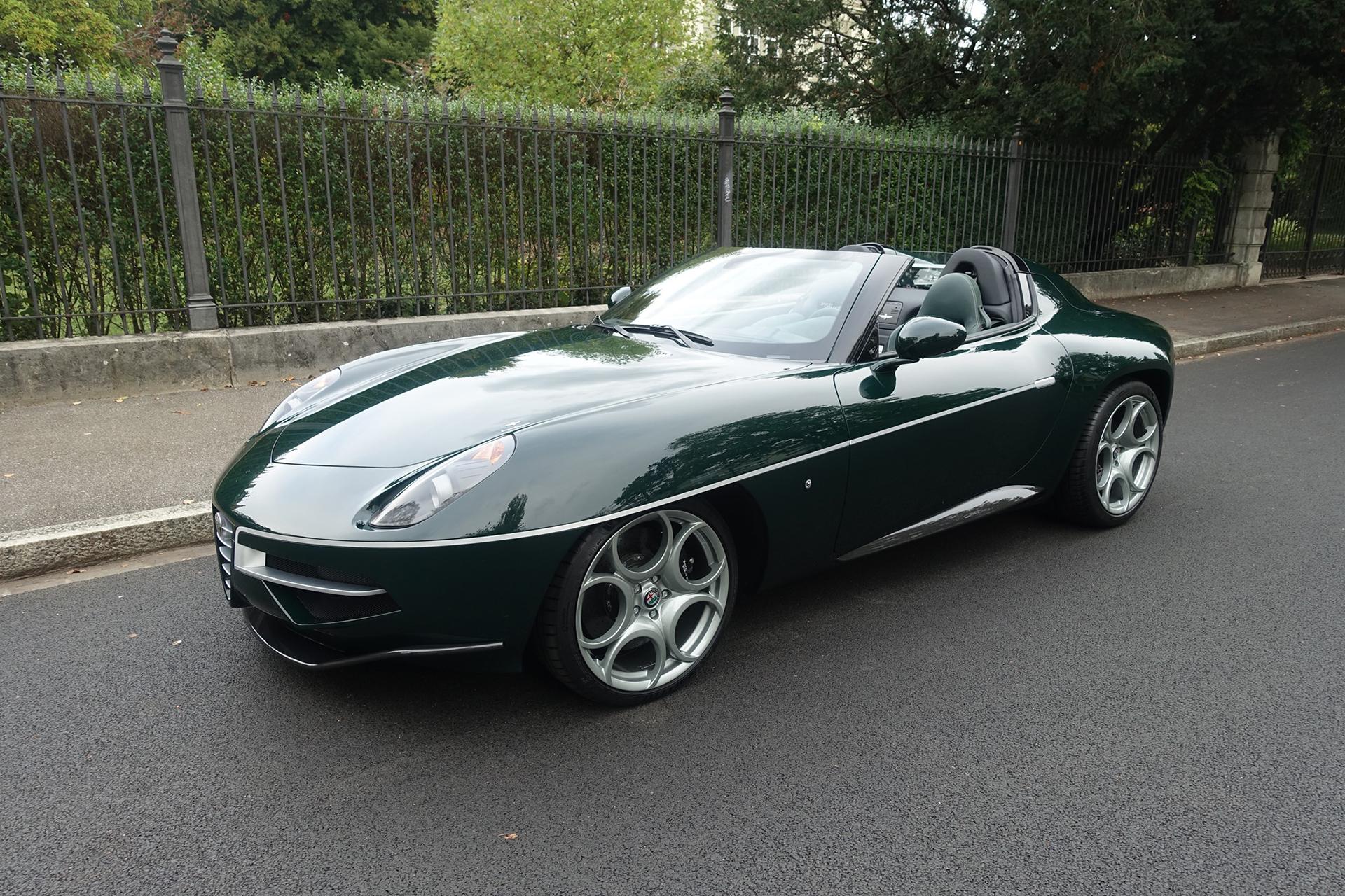 Alfa Romeo Disco Volante Spyder for sale