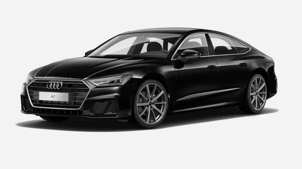 Audi A7 wceni starego hatchbacka