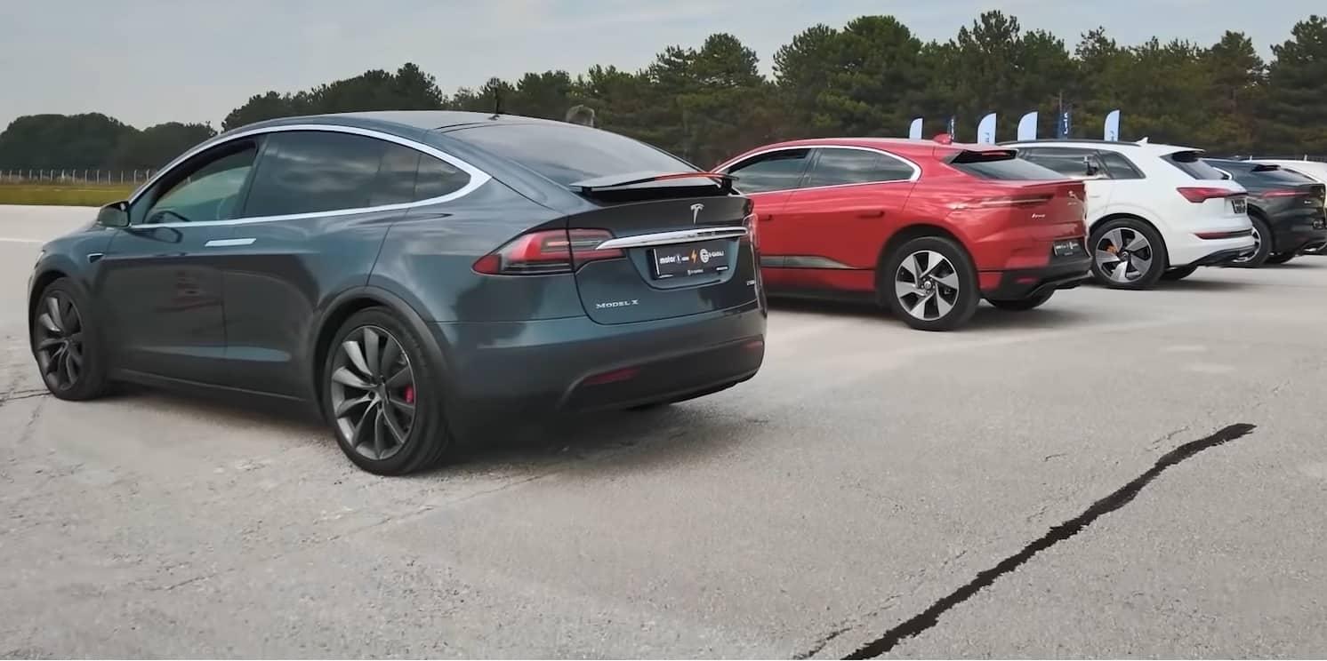 E-Tron vs Model X vs I-PACE