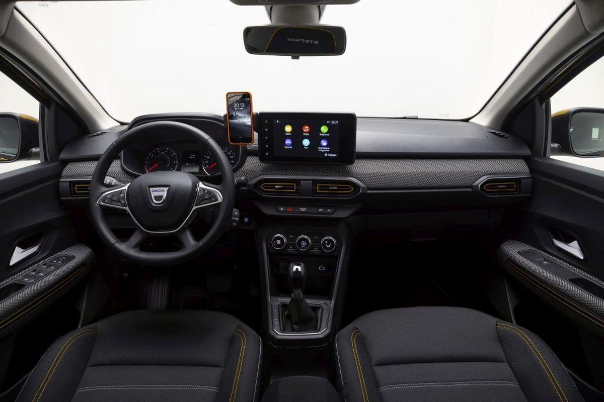 Dacia Sandero 2021 - wnętrze