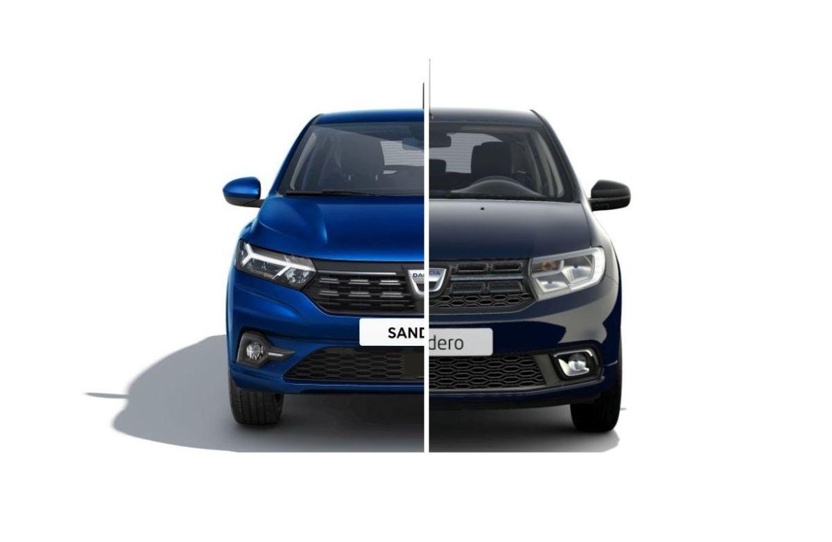 Dacia Sandero led lights