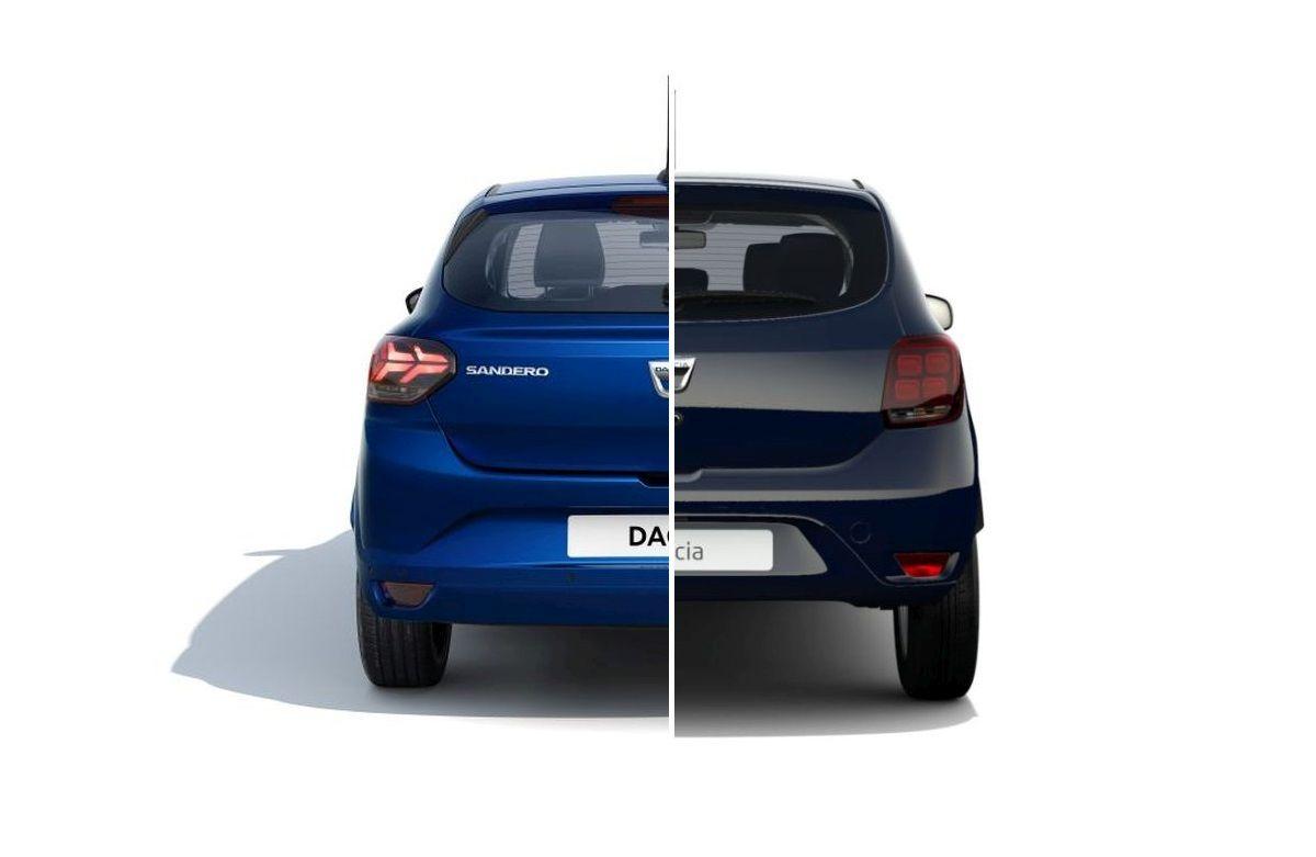 Dacia Sandero 2012 vs Sandero 2020