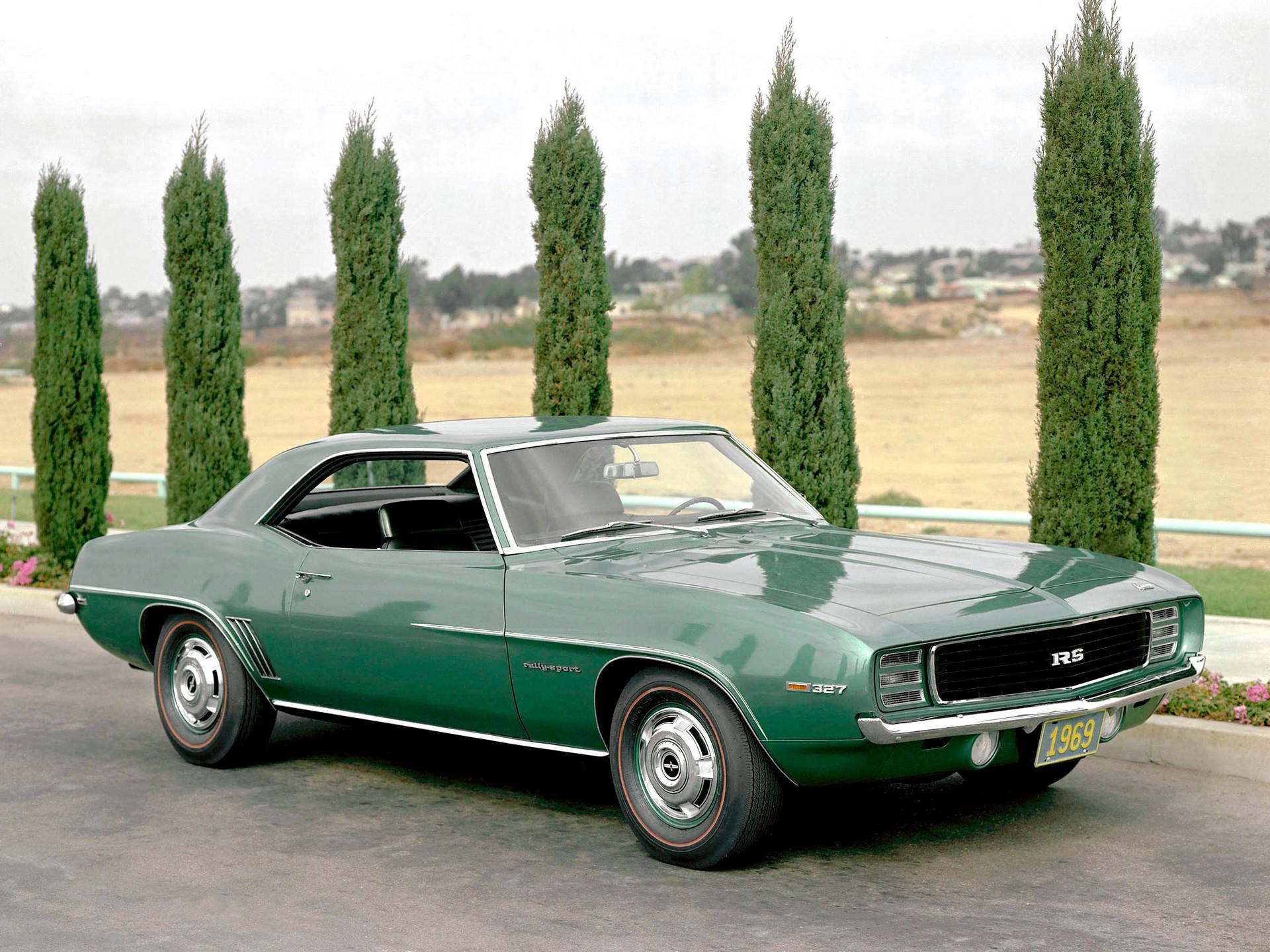 Stolen Camaro 1969