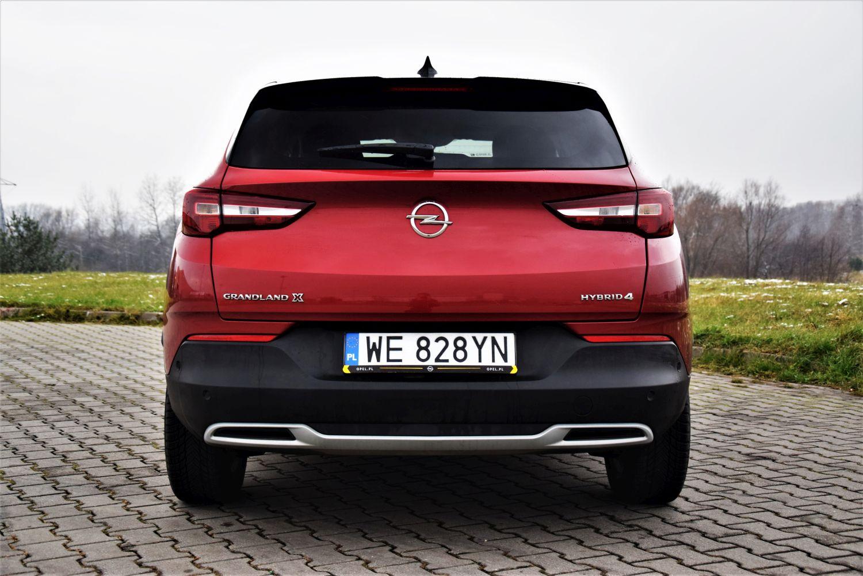 Opel Grandland X Hybrid4 przyspieszenie