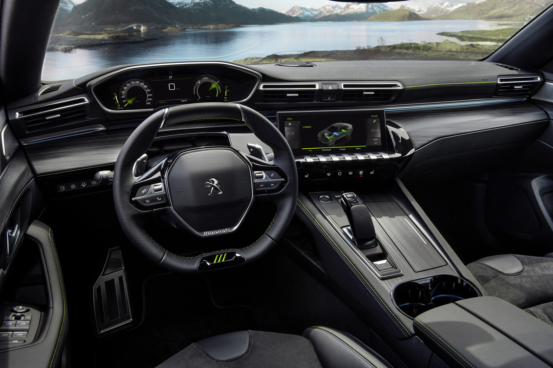 Peugeot 508 PSE - interior