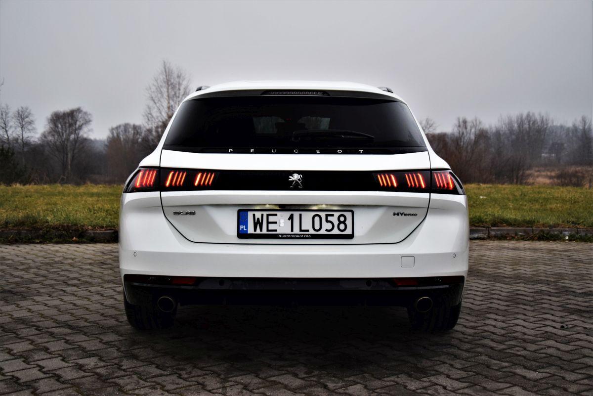Peugeot 508 SW HYbrid PHEV - opinie