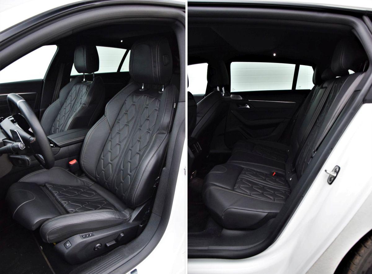 Peugeot 508 SW HYbrid PHEV interior