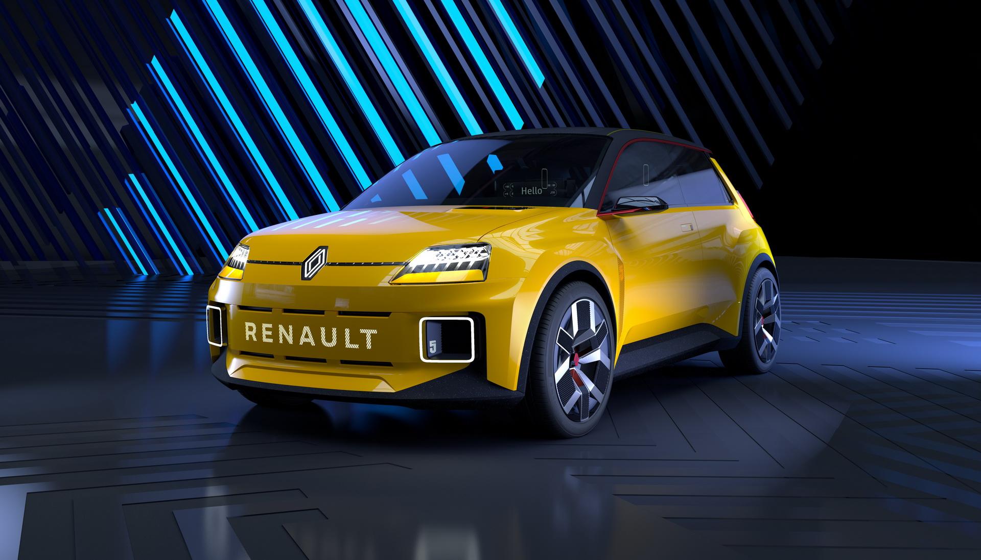 Renault 5 EV 2021