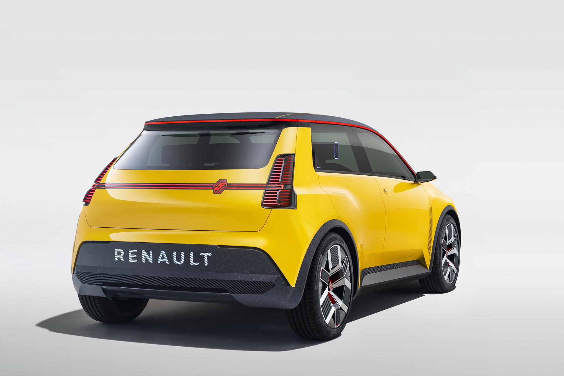 Renault 5 2021 electric car