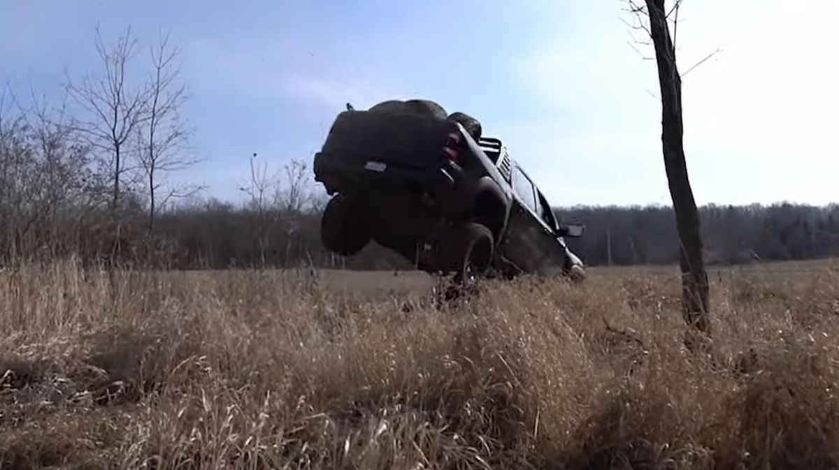 RAM 1500 TRX jump