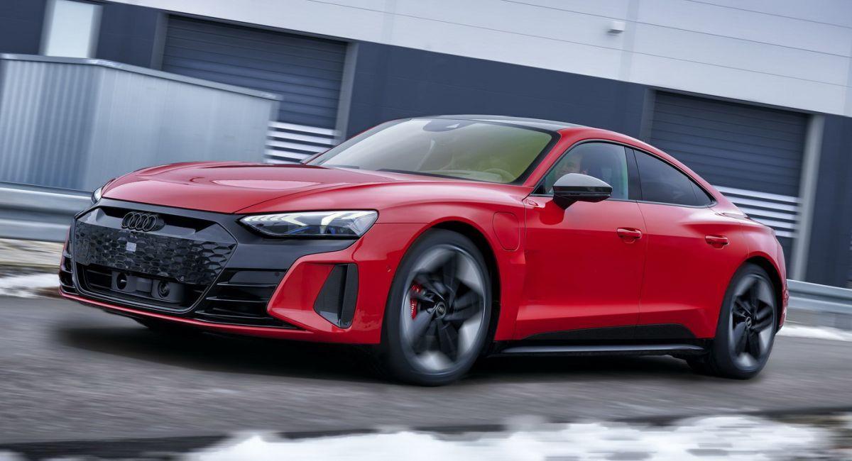 Audi RS e-tron GT - osiągi