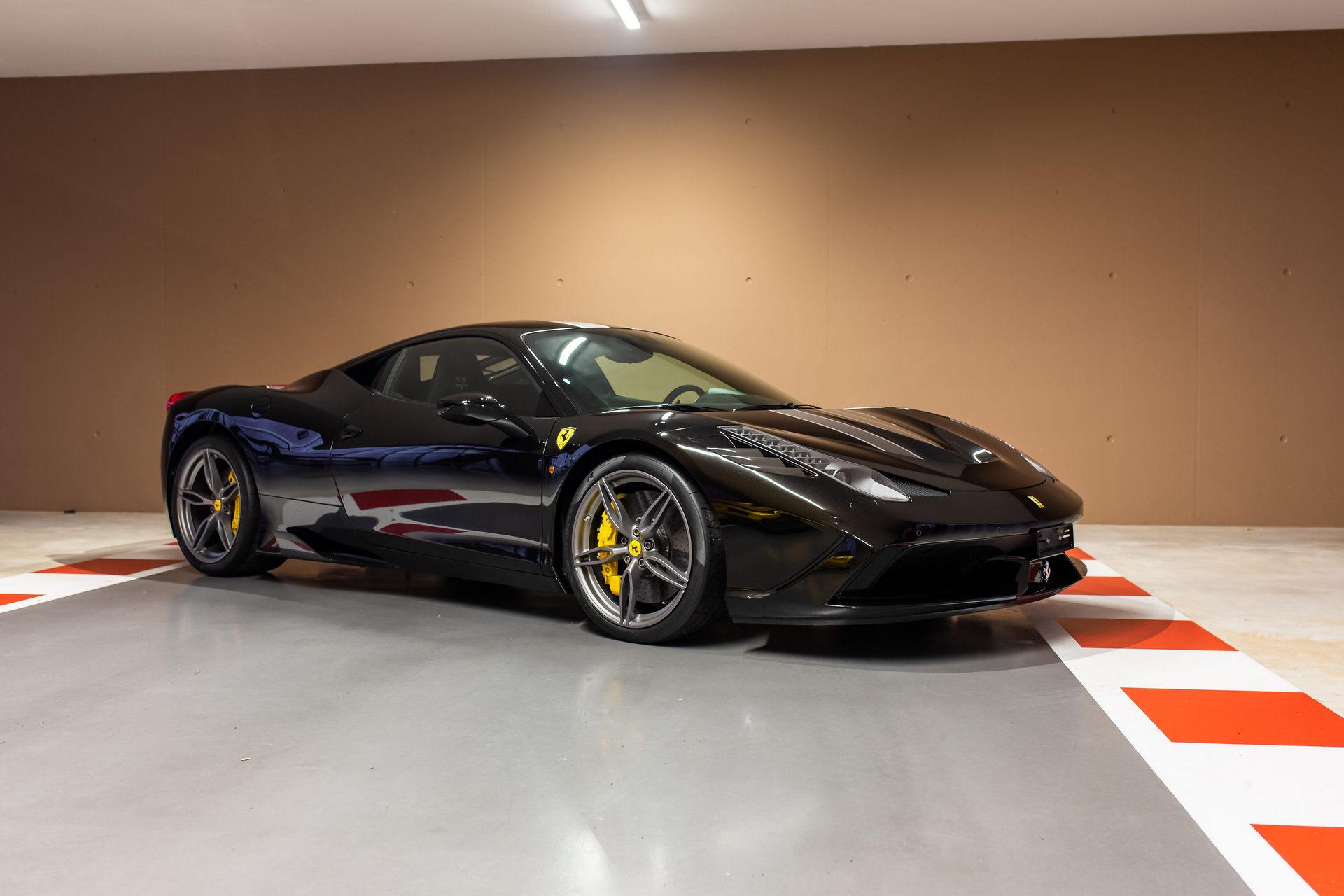 Ferrari 458 Vettel