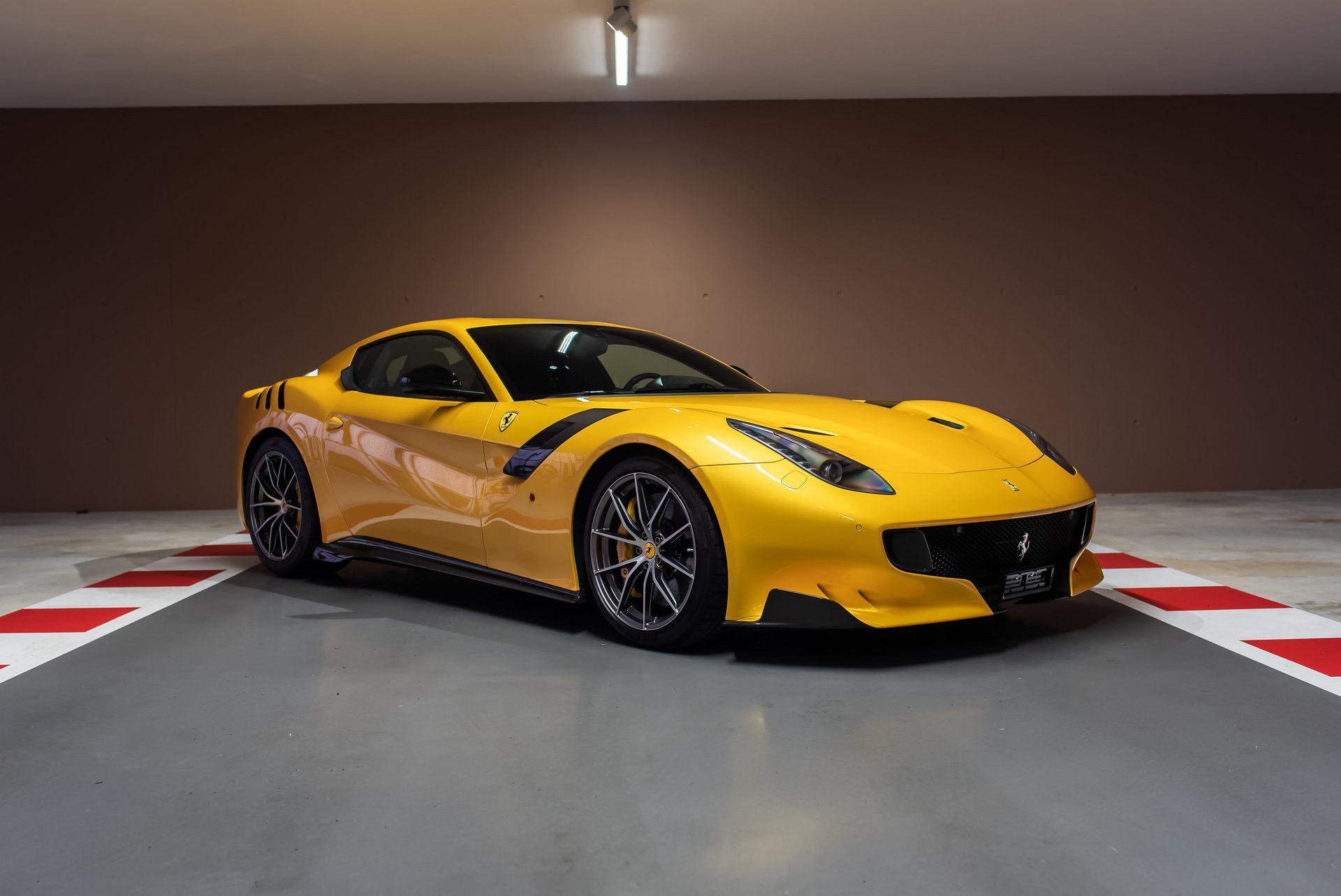 Ferrari F12 tdf vettel