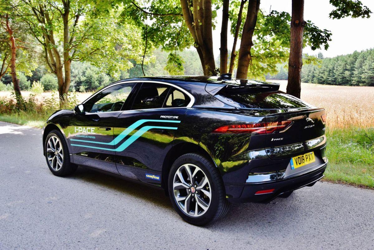 Jaguar I-PACE - dane techniczne