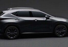 Lexus NX 2022 official